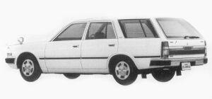 Nissan Gloria VAN VG20E CUSTOM DX 1993 г.