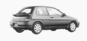Toyota Corolla II ZS 1993 г.