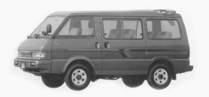 Mazda Bongo WAGON 4WD 2000 DIESEL TURBO RV-S 1993 г.