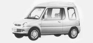 Mitsubishi Minica R 4WD 1993 г.