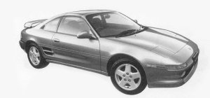 Toyota MR-2 G-LIMITED T BAR ROOF 1993 г.
