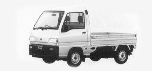 Subaru Sambar Truck HIGH ROOF SDX 1993 г.
