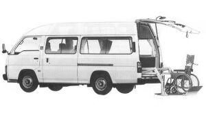 Nissan Homy CHAIR CAB 2WD 1992 г.