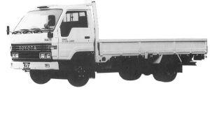 Toyota Dyna WIDE CAB J/L 2T DIESEL 1992 г.