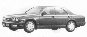 Nissan Gloria V30 TWIN CAM TURBO 1992 г.