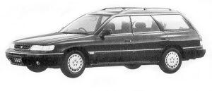 Subaru Legacy 4WD TOURING WAGON 1.8L TI TYPE S 1992 г.