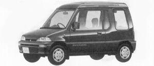 MITSUBISHI MINICA TOPPO 1992 г.