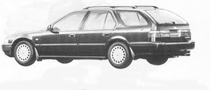 Honda Accord Wagon 2.2I R 1992 г.