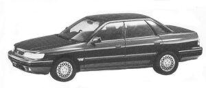 Isuzu Aska CX TYPE Z 4WD 1992 г.