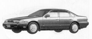 Nissan Cefiro SE 1992 г.