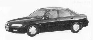Mazda Cronos 18VG 1992 г.