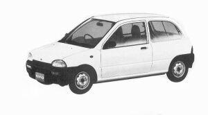 Subaru Vivio 3DOOR 5MT 1992 г.