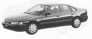 Honda Ascot Innova 2.0SI 1992 г.