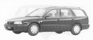 Nissan Avenir SI: 1992 г.
