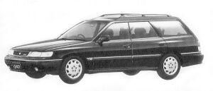Subaru Legacy 4WD TOURING WAGON 2.2L BRIGHTON 220 1992 г.