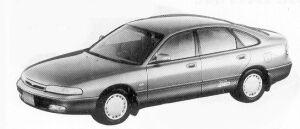 Mazda Efini MS-6 4WD 2.0 TYPE G 1992 г.