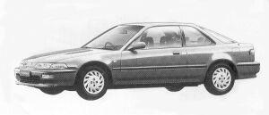 Honda Integra 3DOOR COUPE ZXI 1992 г.