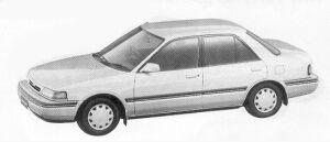 Mazda Familia 4DOOR SEDAN 1500 1992 г.
