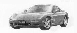 Mazda Efini RX-7 TYPE R 1992 г.