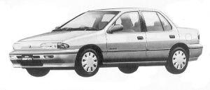 Isuzu Gemini SEDAN 1500 GASOLINE C/C 1992 г.
