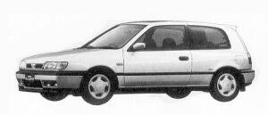 Nissan Pulsar 3DOOR HATCH BACK 1800GTI 1992 г.