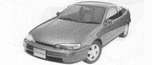 Toyota Cynos B 1992 г.