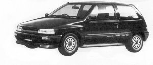 Daihatsu Charade GT-XX 1.0 3DOOR 1992 г.