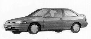 MAZDA FORD LASER 1992 г.