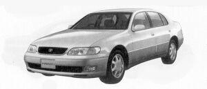 Toyota Aristo 4.0Z I-FOUR 1992 г.