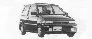 Mitsubishi Minica MILANO 1992 г.