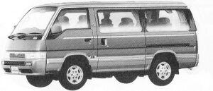 Nissan Caravan COACH 4WD LIMOUSINE DIESEL TURBO 2700 1992 г.