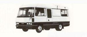 Toyota Coaster CAMPING CAR 1990 г.