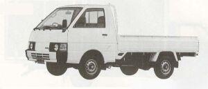 Nissan Vanette Truck LONG SUPER LOW DIESEL 2000DX 1990 г.