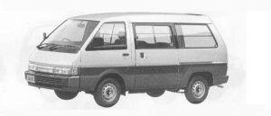Nissan Vanette LARGO 2WD 5DOOR 1500VX 1990 г.