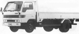 Mazda Titan 2T LONG BODY 3500cc TURBO 1990 г.