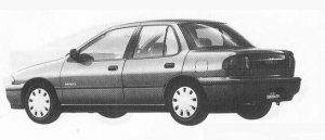 Isuzu Gemini SEDAN C/C-X 1990 г.