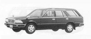 Nissan Cedric VAN DX 1990 г.