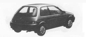 Toyota Corsa 3DOOR 1300 1990 г.