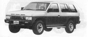 Nissan Terrano 4DOOR 4WD V30 R3M 1990 г.