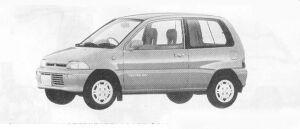 Mitsubishi Minica 3DOOR F-4 1990 г.