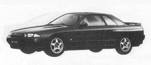 Nissan Skyline 2DOOR SPORT GTS-T TYPE-M 1990 г.
