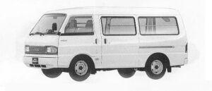 Mazda Bongo BRAWNY VAN STANDARD 2200DE 4DOOR LG 1990 г.