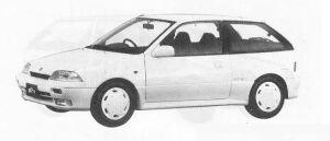 Suzuki Cultus 3DOOR TWIN CAM GT-i 1300 1990 г.