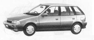 Suzuki Cultus 5DOOR AMENITY 1300 1990 г.