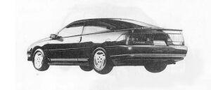 Mazda Ford Probe 2200 EGI INTERCOOLER TURBO GT 1990 г.