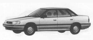 Subaru Legacy 4DOOR SEDAN 1.8L Mi 1990 г.