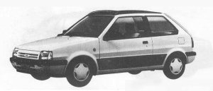 Nissan March 3DOOR HATCH BACK 1990 г.
