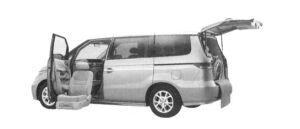 Honda Elysion G FF Side Lift-up Seat Version 2004 г.