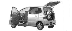 Suzuki Mr Wagon Passenger Swivel Side Seat Car 2004 г.