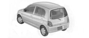 Mitsubishi Minica Voice (5door) 2004 г.